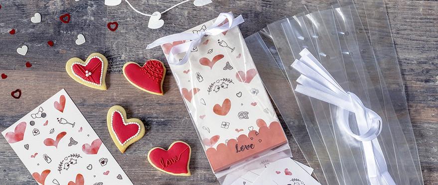 Neuheiten_Geschenktueten-Set Sweet Love
